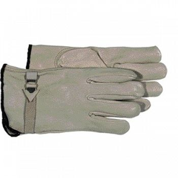 Grey Buckle Glove  (Case of 12)