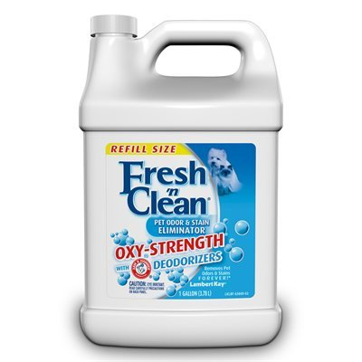 Fresh n clean pet odor stain remover with oxy strength 1 for Fish tank odor eliminator