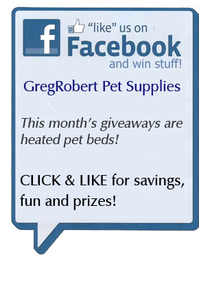 Like GregRobert Pet Supplies on Facebook
