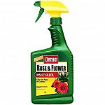 Tough on insects but will not harm plants or blooms. Protects a wide variety of houseplants. Can be used indoors or outdoors. Kills over 40 pests on contact. Effective spider mite control. Odor free.