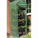 Our Growhouse Mini Greenhouse is ideal for seed germination! Features: Roll-up zip panels for easy access, a heavy duty cover and sturdy tubular steel frames. Dimensions: 6'7