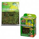 Zoo Med All Natural Reptile Terrarium Moss Substrate is a green product made from harvested moss using sustainable methods to ensure that it will be around for future generations.