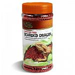 Treat your bearded dragon to this nutritious daily diet every day. Formulated to help enhance a bearded dragon's natural color. Container is resealable and easy to open and close. Give to any omnivororous reptile. Size is 6.5 ounces.