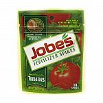 Feed your tomatoes for up to 8 weeks with these fertilizer spikes by Jobes. Helps to grow healthy and robust tomato plants. Easy to use and should be inserted into the ground to fertilize the roots. Designed not to wash away from the rain.