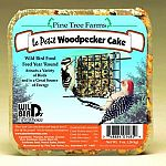 Formulated for year round feeding, the Le Petit Woodpecker Seed Cake will attract woodpeckers and various other types of birds to your yard. High in protein, this cake provide high energy to wild birds. Just place in a suet/seed cake feeder and hang.