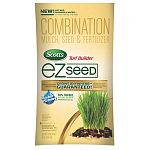 Unique combination of scotts high performance seed, premium continuous release fertilizer and absorbent growing material. Fertilizer releases over time to ensure quick establishment and long term feeding.