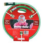 5/8 inch WeatherMaster Medium Duty All Weather Garden Hose features a 5-ply design for outstanding strength. This hose offers dual reinforcing medium flexibility and high kink resistance.