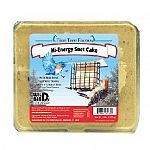 Feed year round.  Contains rendered beef suet, sunflower, millet, cracked corn, peanuts & cashews. Attracts a variety of birds and is a great source of energy.  Place suet seed cake into feeder and hang at least 5 feet off the ground.
