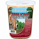 For use with tree icing feeder.  Spread Tree Icing on tree bark using the enclosed applicator or similar utensil. Tree Icing is a mix of seeds, peanut butter, rendered beef suet and other ingredients to attract a variety of birds.