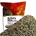 Carnivorous reptiles need a bedding that won't be harmful when accidentally digested. Alfalfa meal provides this trait, plus a reptile-safe bacteriostatic agent that keeps both bacterial and germ growth to a minimum.
