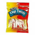 Dingo Chip Twists bring a twist of excitement to rawhide chews that dogscannot resist. Premium rawhide and real meat are twisted together to form a fun,new chew that goes beyond plain old rawhide chips. 6 pk