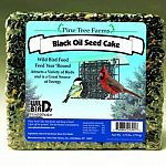 This Black Oil Seed Cake for wild birds comes in a 1.75 lb. size and is a great source of year round nutrition for a number of wild birds. Easy to place in suet feeder and lasts longer than regular seed. Withstands cold temperatures in the winter months.