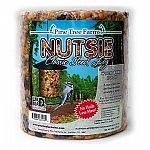 Attracts a variety of birds and is a great source of energy. Ingredients: Mixed Tree Nuts, Peanuts, Sunflower Hearts, Pecans, Dried Fruit, Gelatin.