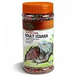 Perfectly blended for your adult iguana, this fortified iguana food is great for the health and well-being of your iguana. Formulated with extra fiber to help aid digestion and made with a mix of plants that iguanas love to eat.