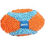Perfect toy for indoor play Made of soft chenille fabric with a classic football shape Easy for your dog to handle and you to toss