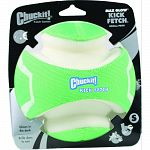 Durable rubber, eva foam and polyester construction that glows in the dark Rolls and floats Kick to play Variable welts with max glow rubber allow for easy pick up