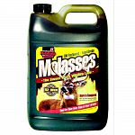 A high quality feed grade molasses packaged in convenient sizes, perfect for quick easy use. Use as a handy feed topper for cattle, horses and swine. They love the taste and it will ensure consumption of feed or medication.