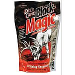 Deer Cane Black Magic is premier formulation with more mineral and flavor attractants that requires no mixing to instantly begin attracting deer. It works by releasing magical vapors to lure deer into the mineral site. Contributes to deer health.