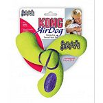 If your pets love tennis balls, they will go insane over the rugged Air KONG Spinner Tennis Squeaker Dog Toy. Everything that made the tennis ball popular with dogs everywhere is built in.