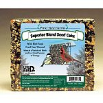 A large 2 pound cake developed for year round feeding. Held together with a natural binder that holds the seed and nuts together in all kinds of weather. A must for serious bird lovers.