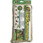Holds more water and stays moist longer than any other type of moss. Natural components in moss prevent it from decomposing in humid environments. For use with most species of frogs, salamanders, newts and invertebrates including hermit crabs. Can also be