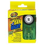 Provides natural day/night cycle for your reptiles. Automatically turns daytime lamp on in the morning and off at night. Automatically turns nighttime lamp or heater on at night and off in the morning. Regulate your terrarium s photoperiod with this easy-
