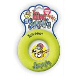 Talk about a rockin' and rollin' good time, these tennis ball-like fetch toys make a terrific squeak no matter where you squeeze them! Great fun at the pool, beach or lake. They float. Donut style.