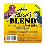 All season song bird blend suet cake. Ideal for all seed and suet eating birds. Guaranteed Fresh. Attract many colorful songbirds to your yard. 11.5 oz. each -sold economically in case of 12.