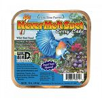 Attracts a variety of birds and is a great source of energy for Wild birds. Vitamin and Mineral fortified. Hang at least 5 feet off the ground. Stands up to hot summer temperatures. 13 oz. each / Case of 12