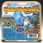 No melt, No Mess! Attracts a variety of birds and is a great source of energy. Vitamin and Mineral fortified. Feed Year 'Round. Dried mealworms and cricket never melt suet stands up to hot summer temperatures. 12 oz. each Case of 12