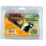 Fill your Log Jammer bird feeder with these specially made