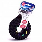 Lots of fun for your dog to squeak and catch, this vinyl dog toy is ideal for any dog to play with. With lots of squeaks, your dog is sure to be entertained for hours. Tire has a 3.5 inch diameter.