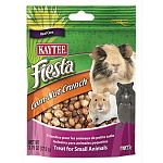 Delicious corn nuts for an everyday snack or reward for your small animal. Crunchy texture and delicious corn taste. Zipper closure to maintain freshness.