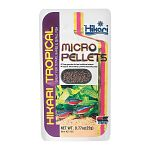 Micro Pellets by Hikari are small, multi-colored pellets developed specifically for small-mouth fishes, providing them superior nutrition with excellent digestibility.