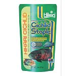 Hikari Cichlid Staple is an economical, daily diet for cichlids as well as other large tropical fish. It contains all the basic nutrition your fish needs to stay healthy. High in stabilized vitamin C, Hikari Cichlid Staple promotes resistance to stress.