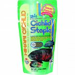 Economical, daily diet for cichlids as well as other large tropical fish. It contains all the basic nutrition your fish needs to stay healthy. High in stabilized vitamin c, hikari cichlid staple supports immune system health. Floating food will not cloud