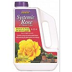2-in-1 action: systematic insecticide and balanced fertilizer blend. Use on roses, flowers and shrubs. Up to 8 weeks of insect control. Great for container gardens. Contains imidacloprid insecticide plus 8-12-4 fertilizer.