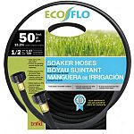 Uses up to 70 percent less water. Perfect for gardens, around shrubs and walkways.