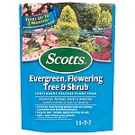 Excellent for evergreens, dogwood, hydrangea, magnolias, and many other acid-loving trees and shrubs. Continuous-release nitrogen encourages vigorous root growth and lush foliage.   Miracle Gro.
