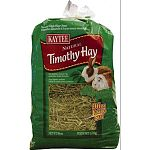 Timothy hay is a natural product with no preservatives or additives. Because timothy hay is lower in calcium, it may decrease the risk of urinary tract problems. For rabbits, guinea pigs, and other small animals.