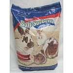 KAYTEE Soft-Sorbent is made from wood fibers that are not suitable for paper production. Rather than be discarded, the fiber is converted into a soft, highly absorbent form that provides a great cage environment for small animals.